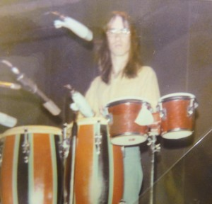 Den at Maryborough Town Hall gig 1974A